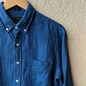 J. Crew Baird Mcnutt Irish Linen shirt